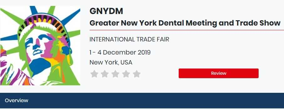 Greater New York Dental Meeting and Trade Show